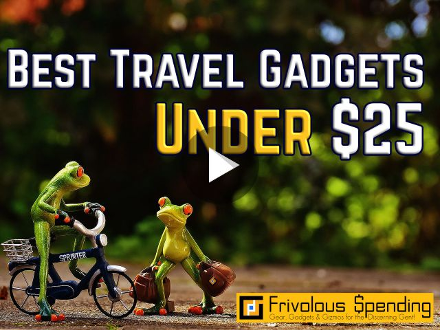 Frivolous Spending | Gear, Gadgets & Gizmos for the Discerning Geek