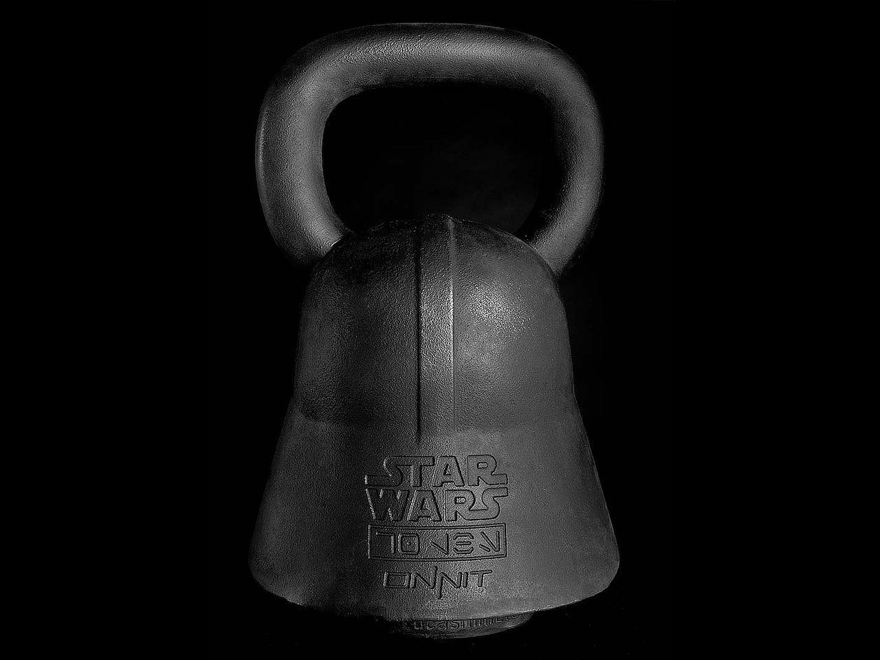 Star Wars Kettlebells - Darth Vader Back